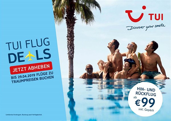 TUI Flug Deals