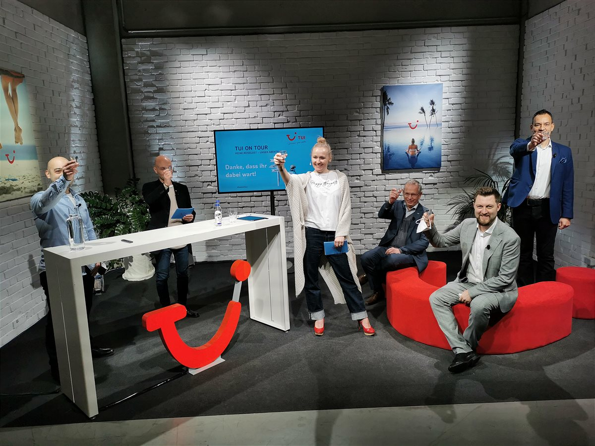 Die erste virtuelle Roadshow: TUI ON TOUR
